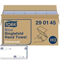 Acheter Hand towel Tork H3 folding V blue package 4000