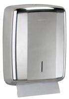 Acheter Hand towel dispenser Lensea Rossignol bright stainless steel