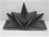 Paper napkin folding star precreased Black Case 12