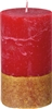 Duni red pillar candle 120 x 70 mm package 12