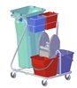 Cleaning trolley Z Rilsan
