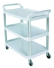 Rubbermaid open white carriage XTRA