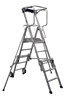 Rolling individual platform telescopic Duarib 3-5 steps