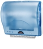 EnMotion Impulse Lotus Wall Mount Automated Touchless Towel Dispenser blue