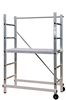 Aluminum scaffolding Partner 3 heights