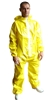 Disposable coveralls yellow cat type III on April 3