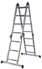 Professional aluminum articulated ladder 1.2 m / 4.00 m