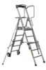 Telescopic working platforms 3/5 steps. Adjustable working height