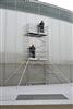 Scaffolding aluminum rolling Duarib AL 250 H 4.9 m