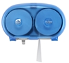 Compact Lotus toilet tissue Dispenser Ensure smoked blue
