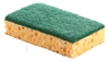 Tamponge scraping green 110 x 70 pack of 10
