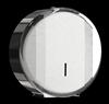 Toilet paper dispenser Rossignol bright stainless steel mini jumbo