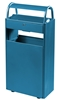 Outdoor ashtray bin 12 L / 60 L blue foot