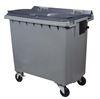 770 liter waste container 4 wheel front gray CV taken