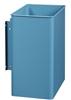 Bin Rossignol swivel wall rectangular blue 27L