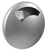 Wall ashtray outside Rossignol 0.5 L Gray metal Disco