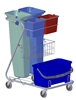 Carriage ware washing Z hospital impregnation method cart