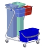 Carriage ware washing Z hospital impregnation method