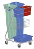 Cleaning material Z Service Cart Product selective sorting