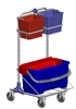 Compact Disinfection cleaning trolley DIT 470