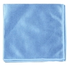 Microfiber cloth special glasses 40 x 40 cm blue
