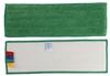 Microfibre mop floor velcro 40 cm green