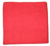 Laser microfiber cloth 40 x 40 cm red special body
