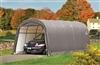 Garage car demountable steel structure and polyethylene 3.7 x 6.1 m