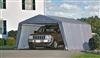 Garage demontable car steel frame and polyethylene 3,6 x 6,1 m