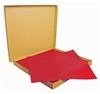 Ply paper 70 x 70 cm bright red package 500