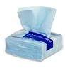Chicopee Chux cloth nonwoven blue package 8 cases of 50 cloths