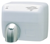 Electric hand dryer JVD white automatic 2500 W Hurricane