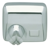 Electric hand dryer JVD polished chrome automatic 2500 W Hurricane