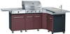 Gas BBQ Kitchen Master FAVEX brown