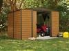 Garden shed Arrow ED108 galvanized steel 7m2 imitation wood