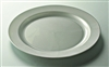 Disposable plate silver round prestige D 190 mm package 96