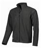 Fleece jacket black warm work