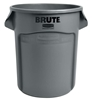 Container Rubbermaid Brute Round 121 Litres Grey