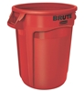 Rubbermaid Brute container round red 121 Litres