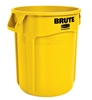 Rubbermaid Brute container round yellow 167 Litres