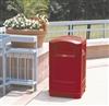 Rubbermaid Landmark II Collector dechet red