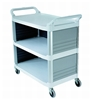 Rubbermaid X-tra closed cart, Grey