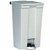 Rubbermaid kitchen trash pedal Haccp L White 87