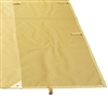 Waterproof canvas garden arbor Capri Riviera passing 400g PET PVC