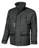 Waterproof coat black work wrc