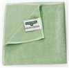 Microfiber cloth green Unger MICROWIPE 500 pack 10