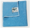 Blue microfiber cloth Unger MICROWIPE 4000 pack 10