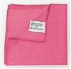 Red microfiber cloth Unger MICROWIPE 4000 pack 10