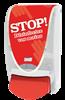 Disinfectant gel dispenser Deb Proline stop