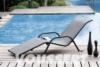 Aluminum sun bath resin braided wave
